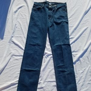 Mens Eddie Bauer Relaxed Fit Jeans 36T/38